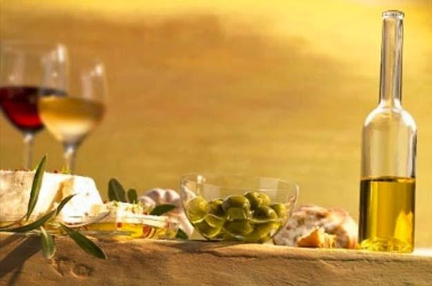 Typisch ligurische Nahrungsmitteln