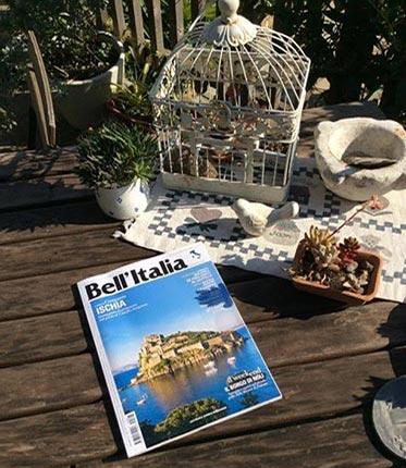 Ca' de Badin Bed & Breakfast è stato citato dal prestigioso mensile Bell'Italia tra i B&B consigliati a Noli.